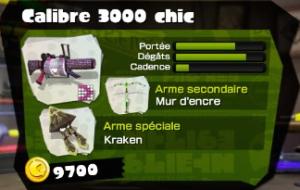 Calibre 3000 chic