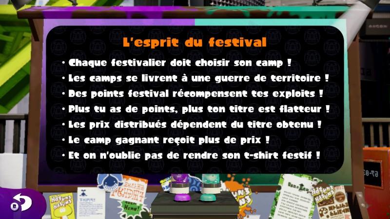 règles festivals