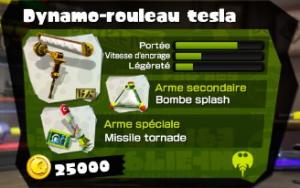 Dynamo-rouleau Tesla