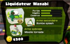 liquidateur wasabi