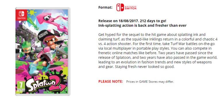 La date de sortie selon Game.