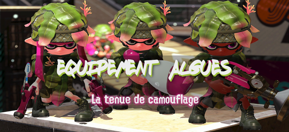 Tenue Algues Splatactu Splatoon Fr